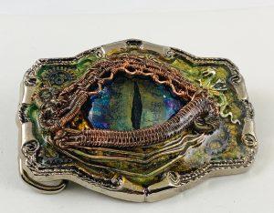 Dragon Eye Belt Buckle